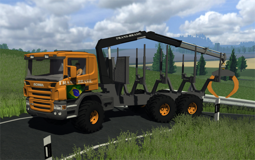 Scania Forestry Pack