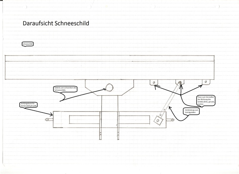 schneeschild rasentraktor selber bauen anleitung energie. Black Bedroom Furniture Sets. Home Design Ideas