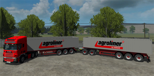 Scania R580 & Kroeger Pack