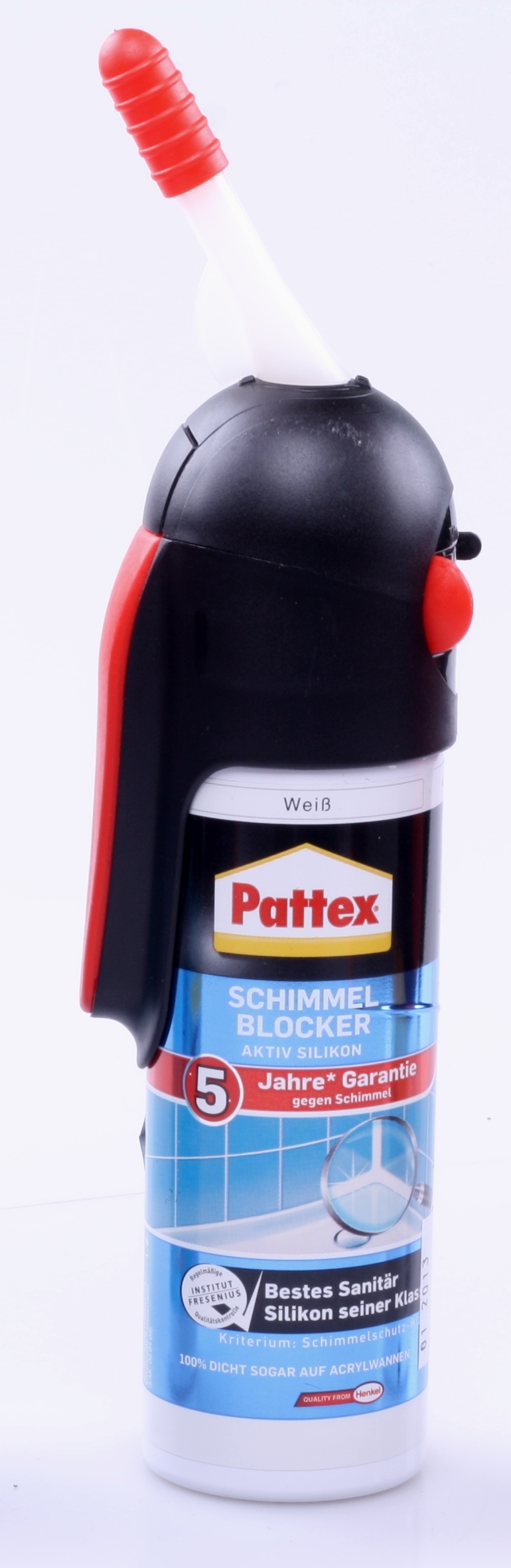 pattex schimmelblocker aktiv silikon silicon anti schimmel wei 100ml ebay. Black Bedroom Furniture Sets. Home Design Ideas