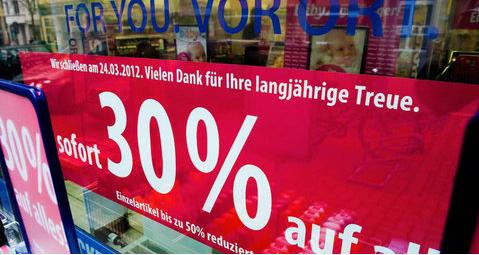 Schlecker: Ausverkauf in allen Filialen ab Freitag 08.06.2012 - satte 30-50% Rabatt auf alles!