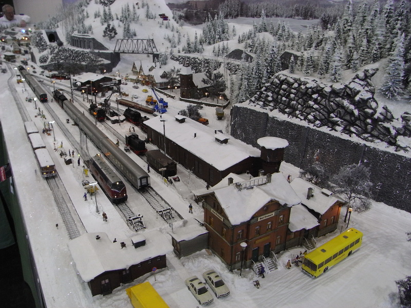 Messe Bremen: GERMAN RAIL '13 Schnee1ypueh