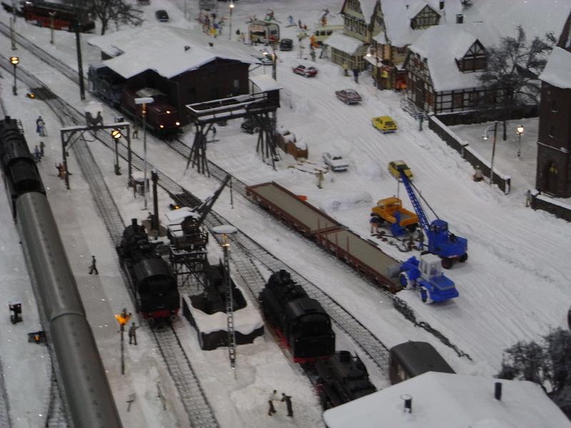 Messe Bremen: GERMAN RAIL '13 Schnee274uw8