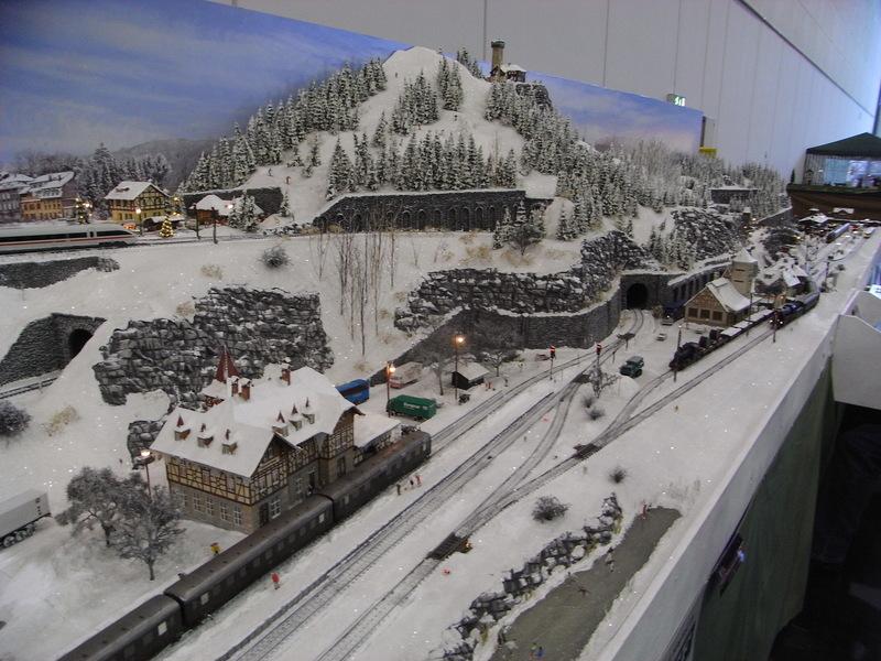 Messe Bremen: GERMAN RAIL '13 Schnee3wyudd