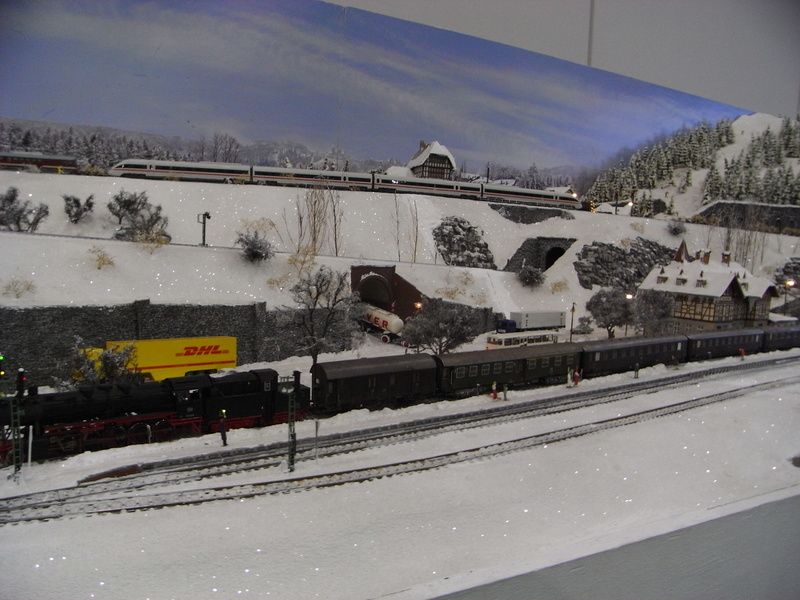 Messe Bremen: GERMAN RAIL '13 Schnee4i9u27