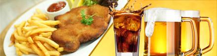 DailyDeal Hamburg: XXXL Schnitzel und XXXL Pommes + Softdrinks oder Bier für 2 Personen für nur 14,30€ im Curry Club (Alster)!
