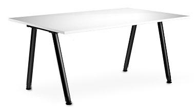 wei er schreibtisch 120x80cm f r 25 bei druckerzubeh r. Black Bedroom Furniture Sets. Home Design Ideas