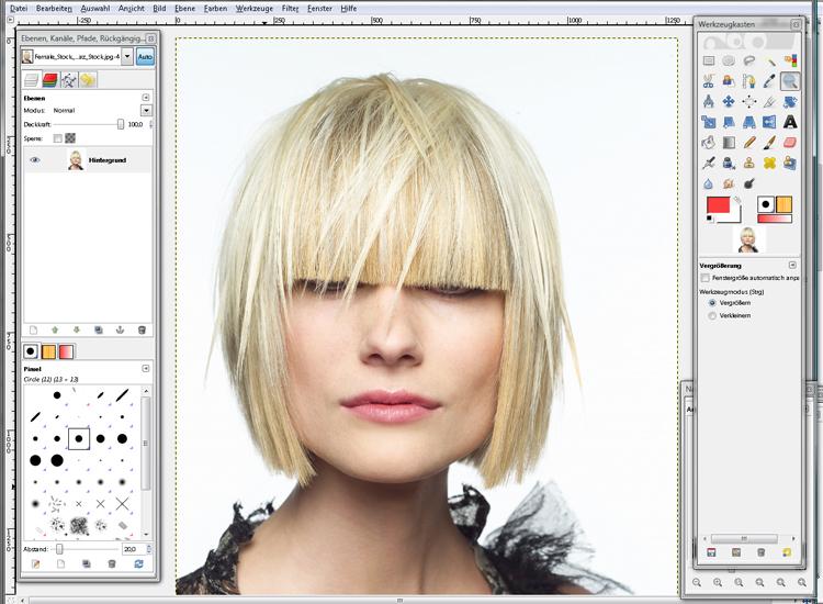 Copy Paste Love | by MiraDesigns: Färben mit GIMP ♥♥♥