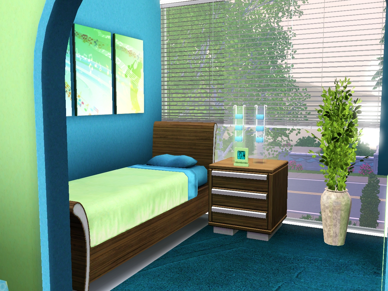 contest das sch nste teenie zimmer das gro e sims 3. Black Bedroom Furniture Sets. Home Design Ideas