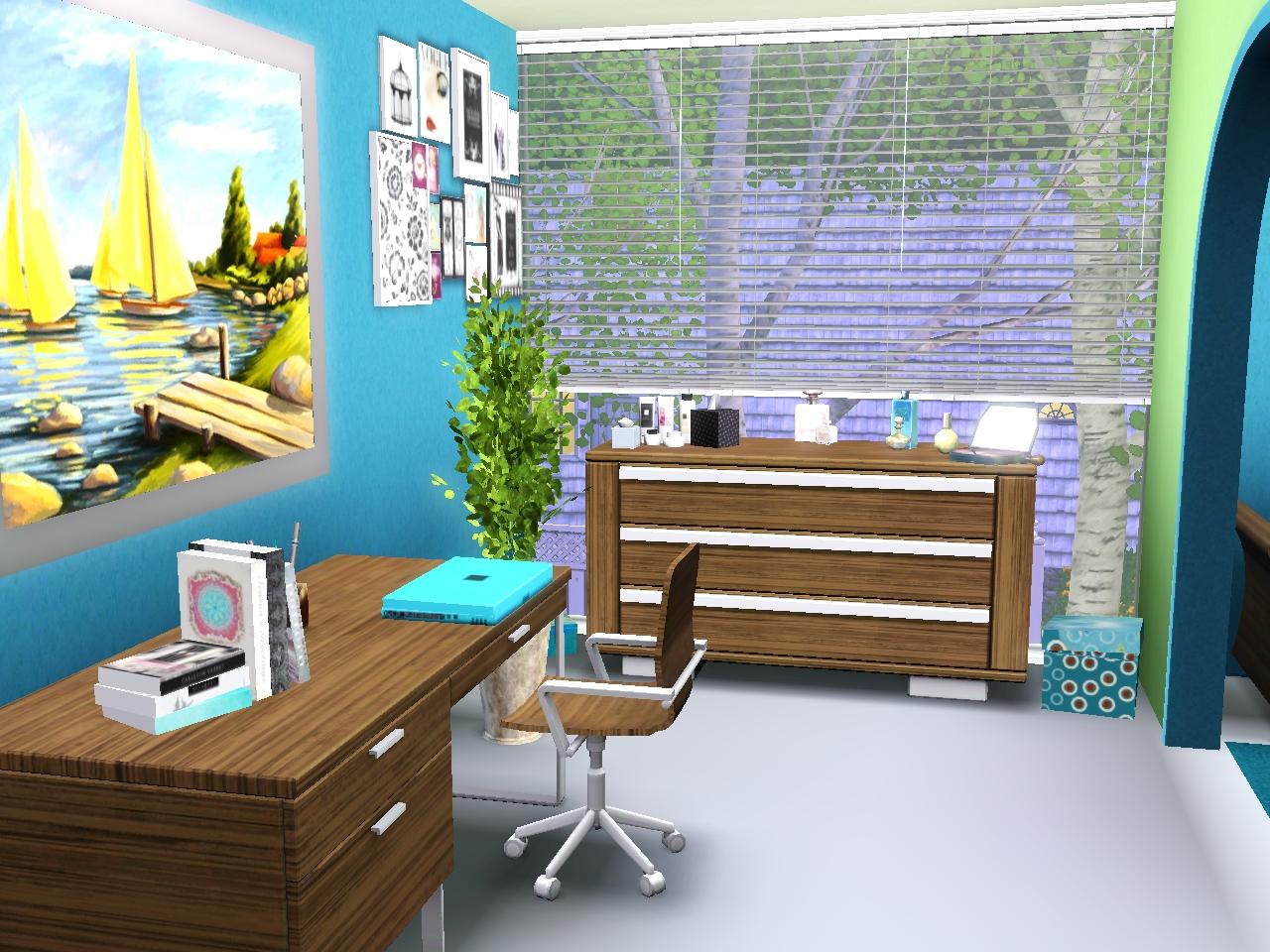 contest das sch nste teenie zimmer das gro e sims 3 forum von und f r fans. Black Bedroom Furniture Sets. Home Design Ideas