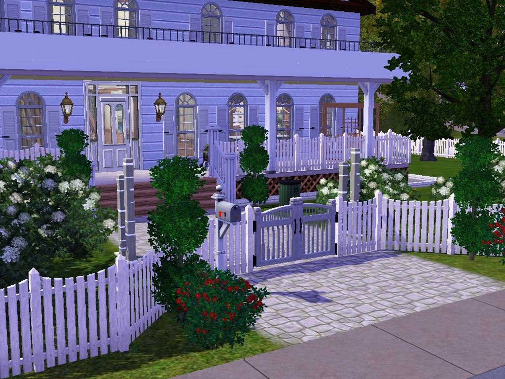 das gro e sims 3 forum von und f r fans vorstellung haus im amerikanischen stil. Black Bedroom Furniture Sets. Home Design Ideas