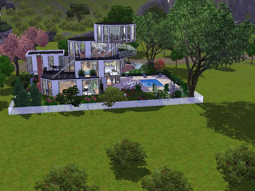 Sims 3 häuser zum nachbauen luxus  Panorama Haus - Das große Sims 3 Forum von und für Fans