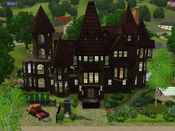 Alte Villa Das Große Sims Forum Von Und Für Fans - Minecraft haus bauen alt