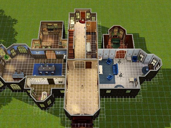 Villa grundriss sims 3  Alte Villa - Das große Sims 3 Forum von und für Fans