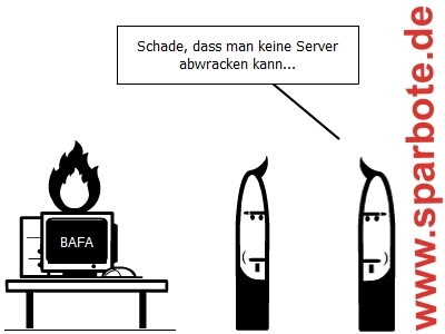 Server abwracken