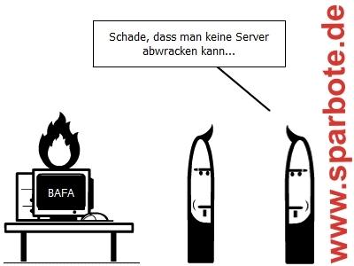 Server abwracken
