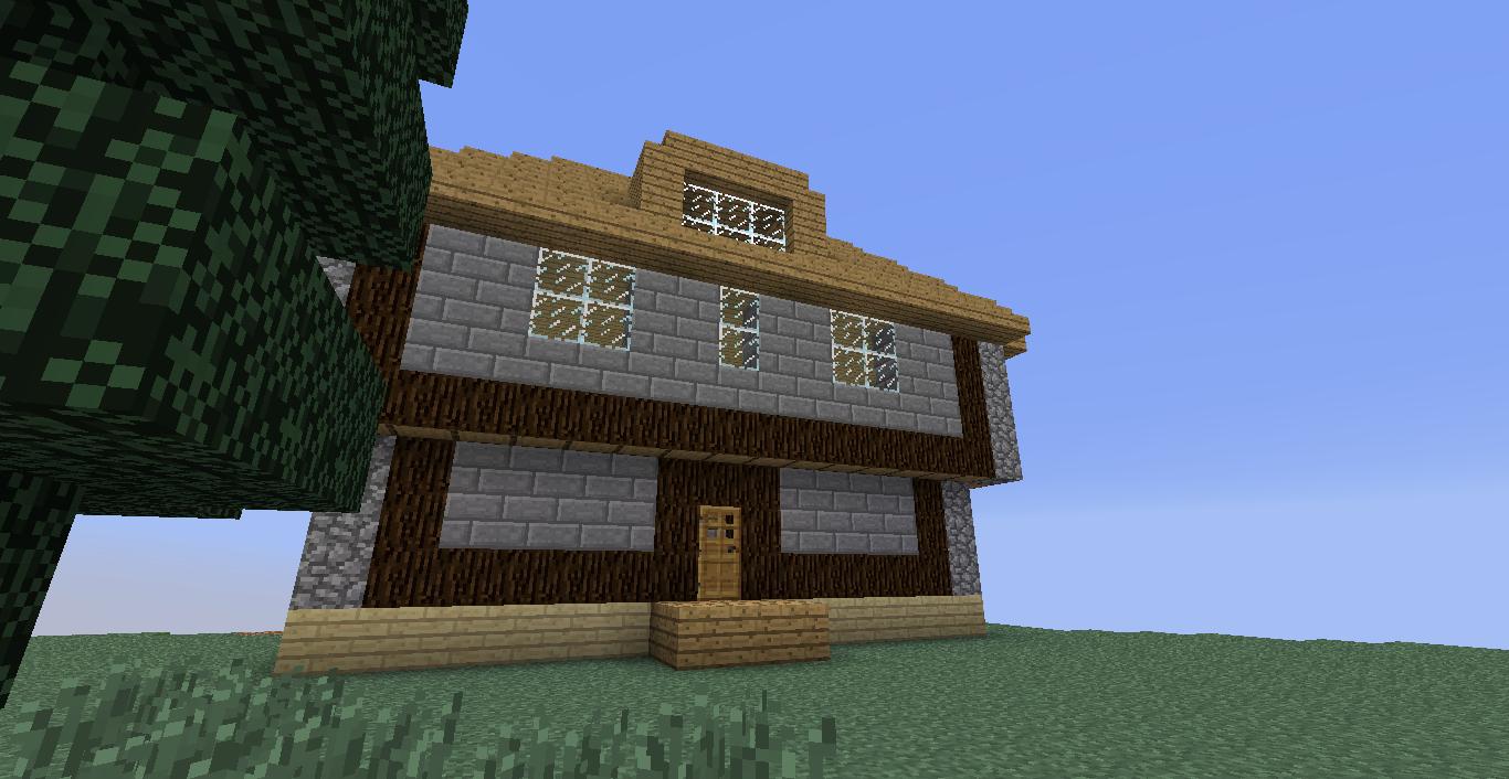 Minecraft hauser klein interior design und m bel ideen for Minecraft modernes haus nachbauen