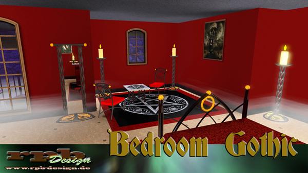 schlafzimmer gothic - das große sims 3 forum von und für fans, Schlafzimmer ideen