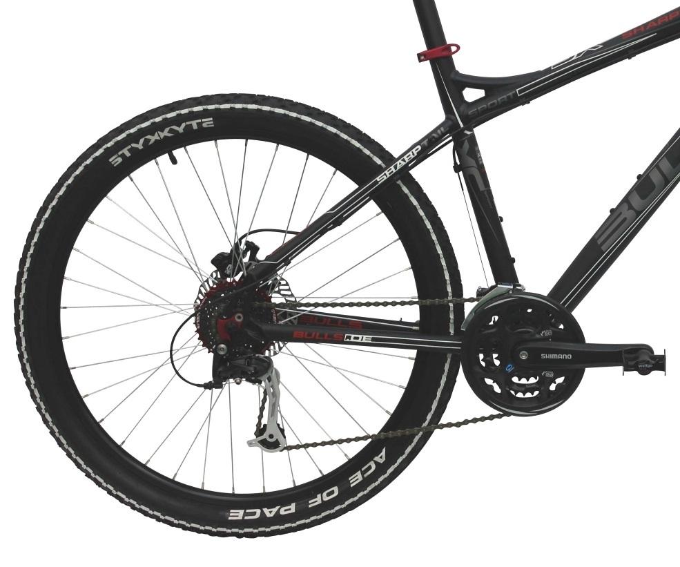 bulls sharptail disc mountainbike 46 cm fahrrad shimano 24 g scheibenbremsen ebay. Black Bedroom Furniture Sets. Home Design Ideas