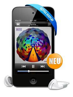ebay: Apple iPod Touch 4G 32GB MC544 - neuestes Modell Retina - nur 229€ inkl. Versand (Vergleich: 276€!!) mit Paypal Gutschein sogar nur: 195€!!