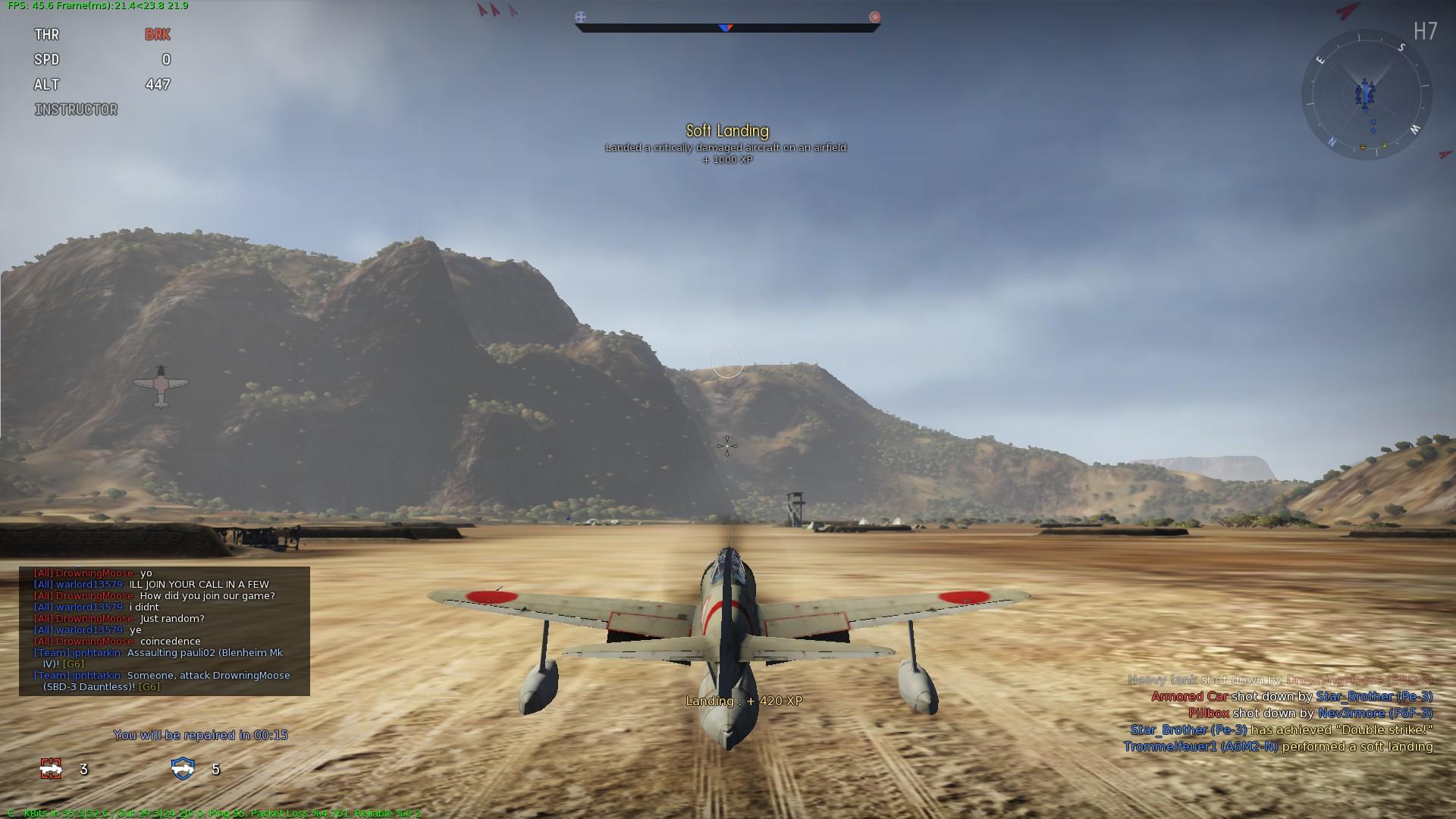 landing war thunder
