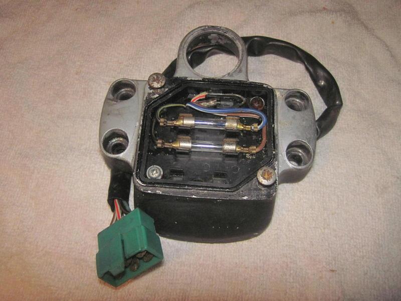 Der Sicherungskasten für CX 500 Sicherungskastencx500aiylq