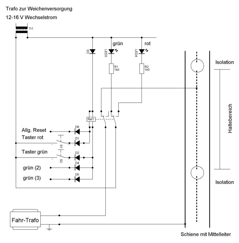 Bistabiles Relais - Stummis Modellbahnforum