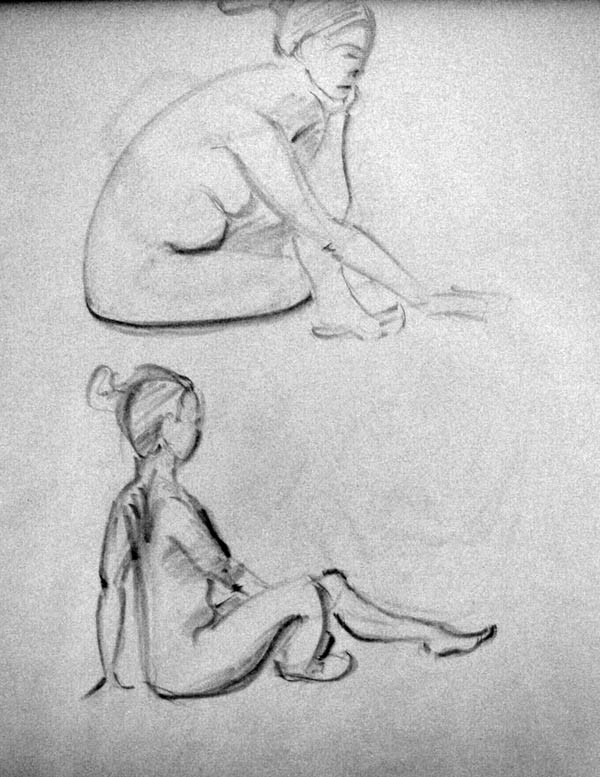 Figure drawing, Potraits and sometimes other stuff...