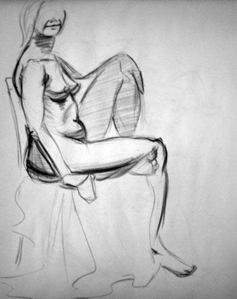 The OFFICIAL Nude Figure Life Drawing Thread