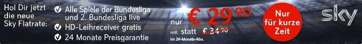 Sky Angebot - Fußball Bundesliga