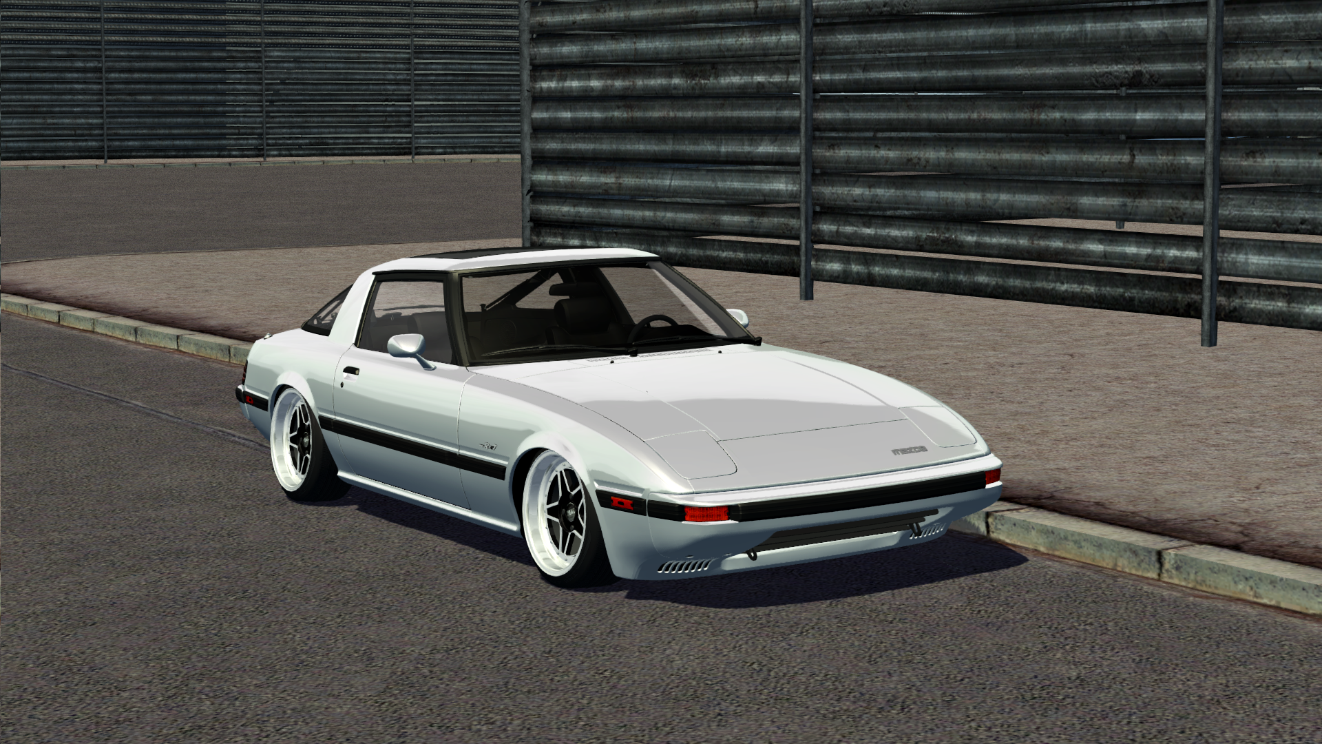 Virtual Stance Works - Mazda rx7 FB 1985