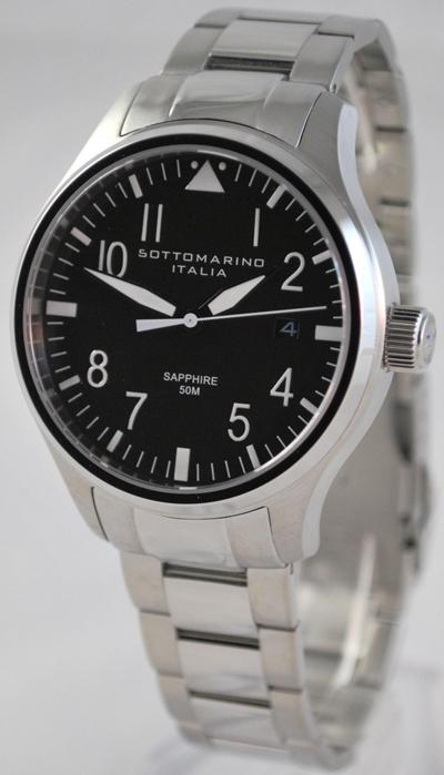 Wtb sottomarino italia pilotare sm30002 sapphire quartz watch for Sottomarino italia