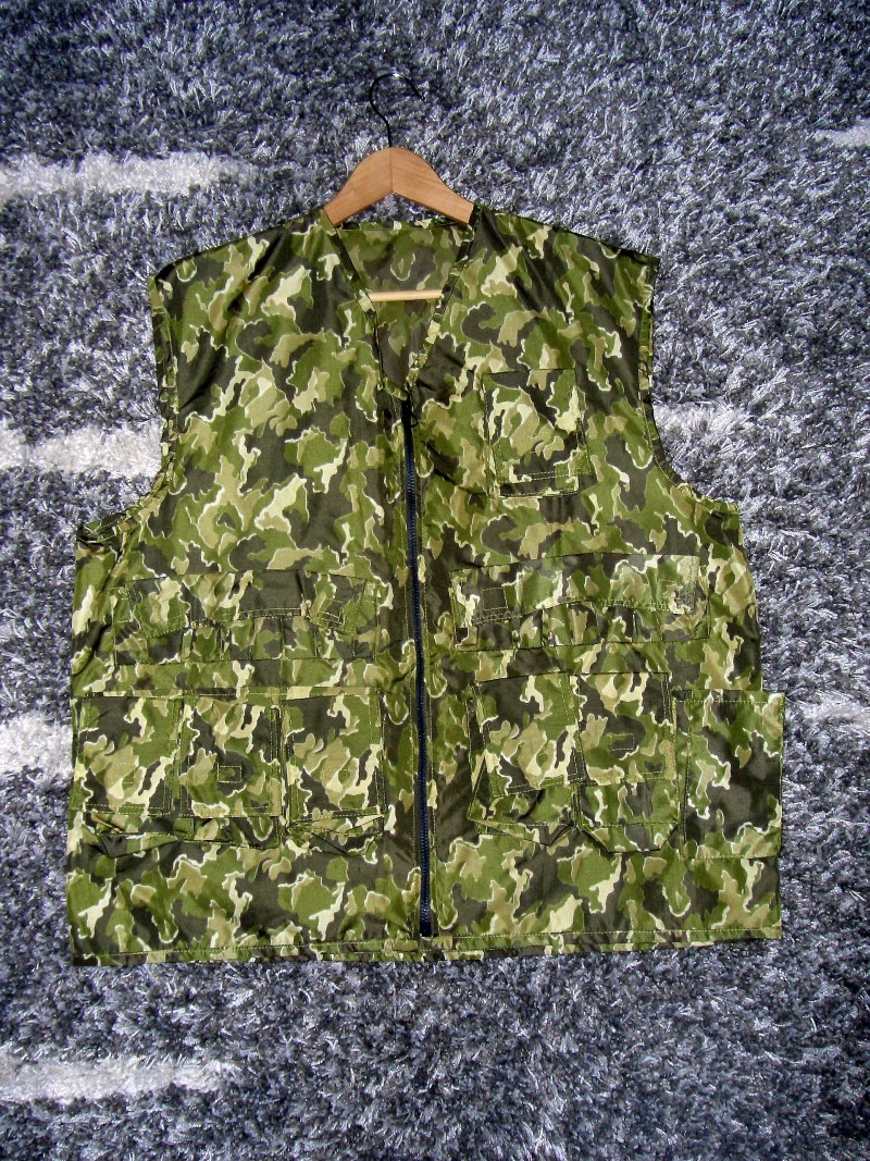 "Russian ""SMK' camouflage Smkvest9pfv"