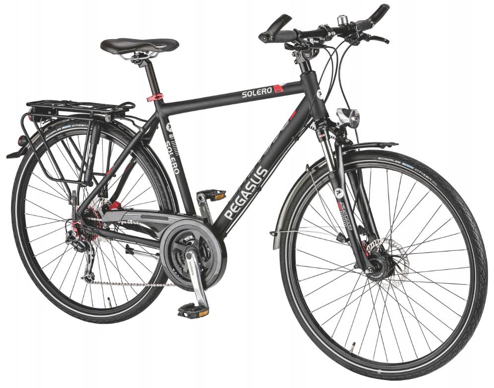 trekking fahrrad pegasus solero sl disc herren 28 zoll. Black Bedroom Furniture Sets. Home Design Ideas