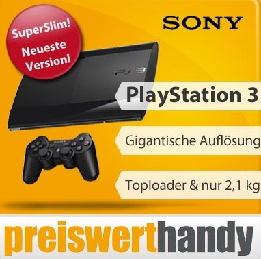 Sony Playstation 3 Super Slim