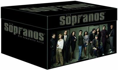 amazon: Die Sopranos - Die ultimative Mafiabox mit 28 DVDs für nur 49,97€ inkl. Versand! - exklusiv!