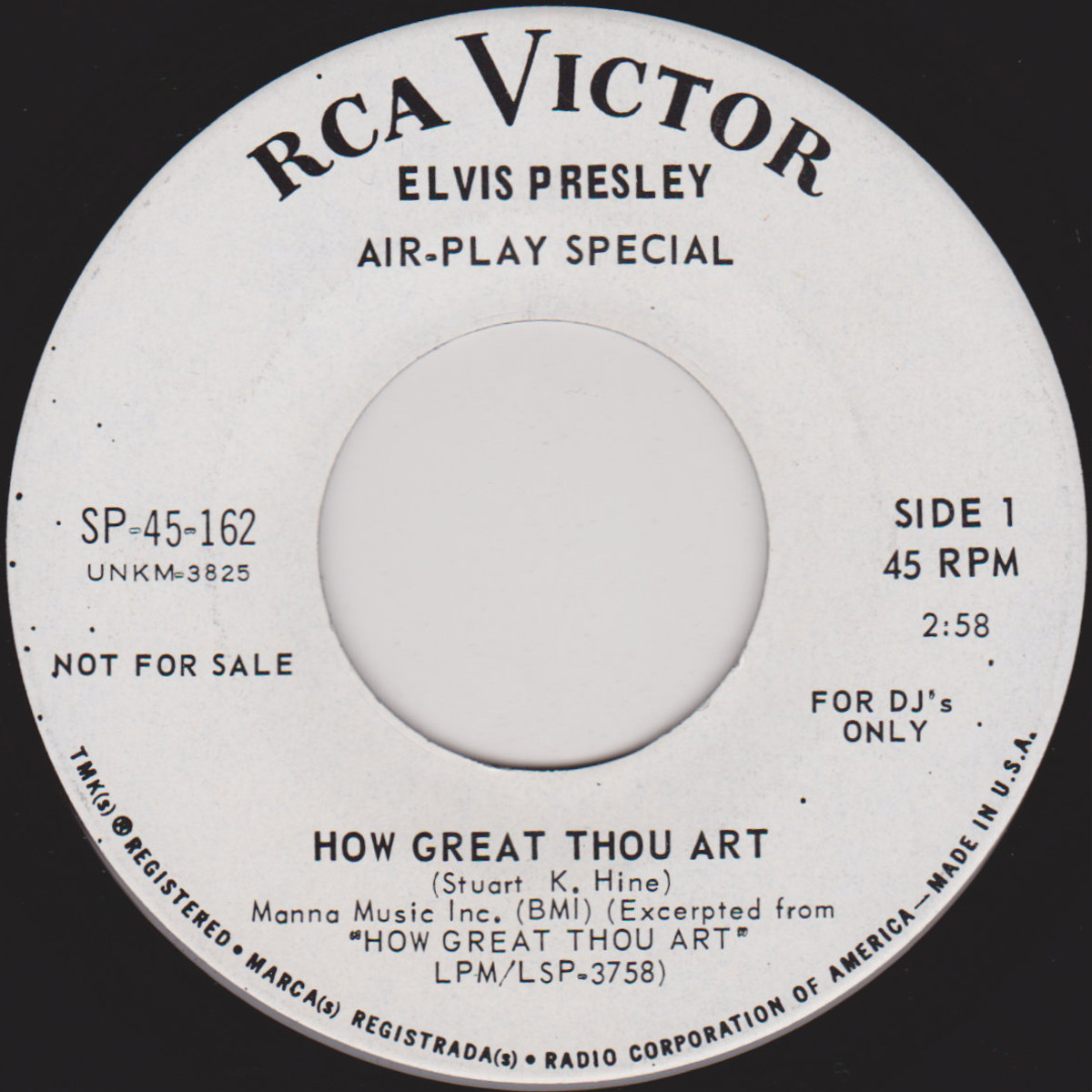 How Great Thou Art / So High Sp-45-162c8tjwy