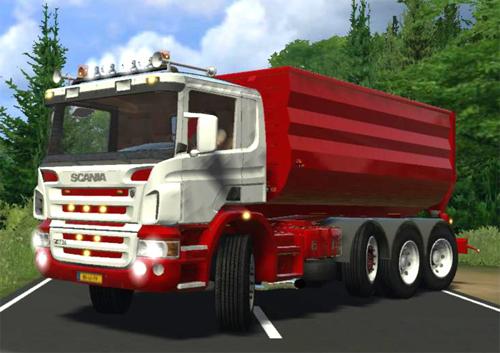 Scania P420HKL plus Container