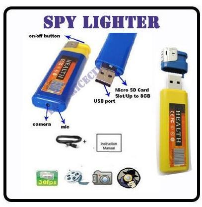 [Gadget Tipp!] Mini Spy Video Kamera im Feuerzeug nur 7,92€ inkl. Versand