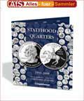Sammelalbum für Statehood Quarters 1999 - 2008