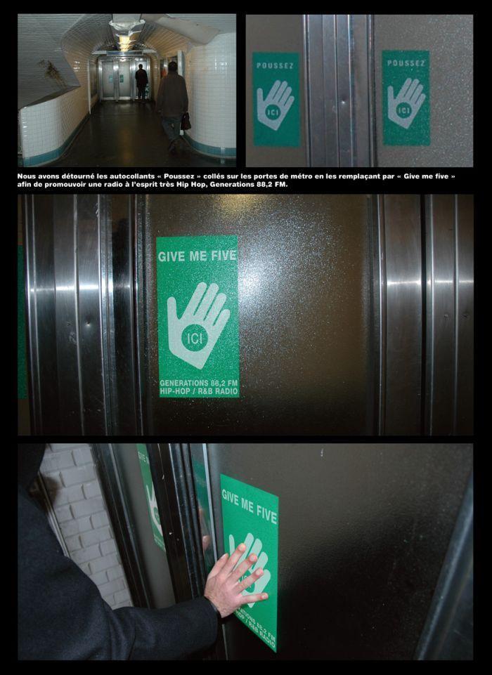 Pomysłowe reklamy w windach 16