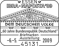 Internationalen Briefmarken-Messe in Essen vom 6. bis 10. Mai Sst60jahrebrd6721