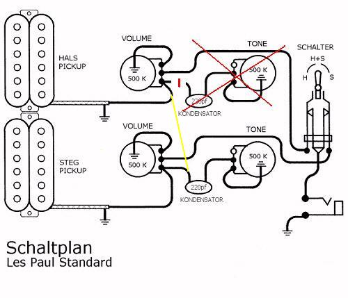 schaltplan les paul gitarren forum de gibson 500t pickup wiring diagram gibson guitar pickup wiring diagrams