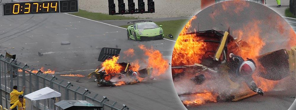 Lamborghini Blancpain Super Trofeo @ Brno Stcrash_12105tr