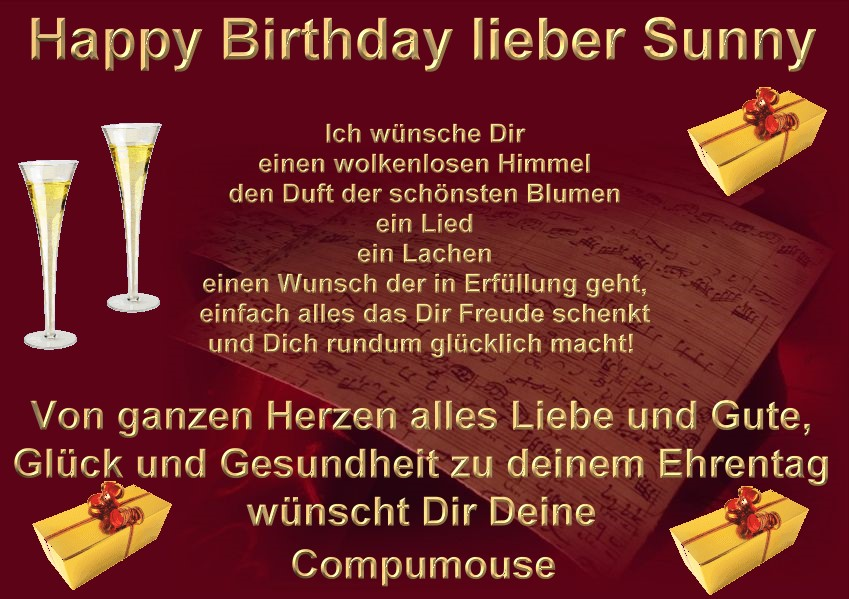 Happy Birthday Sunny Sunny7v38