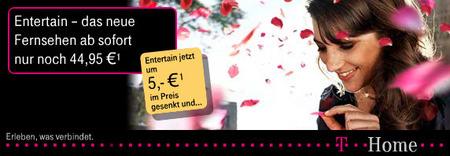 T-Home Entertain mit 100 Euro Gutschrift