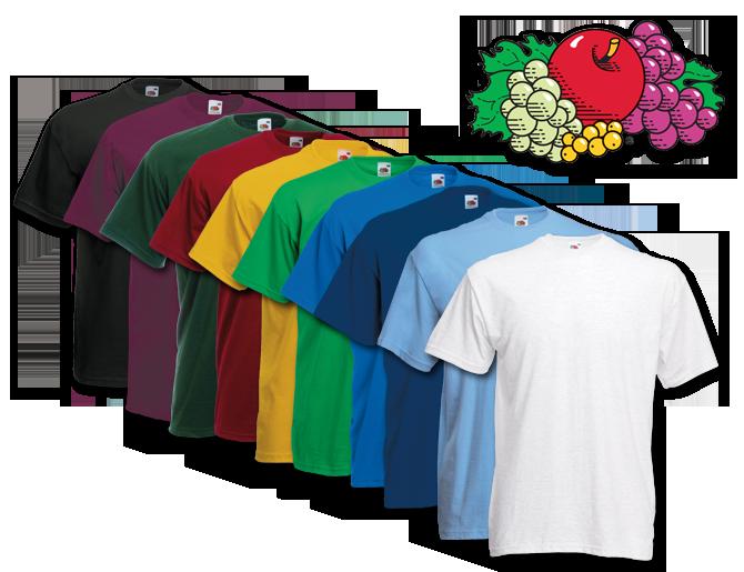 ebay WOW: 10er Pack Fruit of the Loom T-Shirts - versch. Größen und Farbsortierungen - nur 21,99€ inkl. Versand!