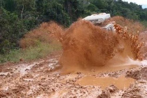 Transamazonika - najgorsza droga w Brazylii 61