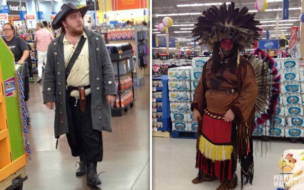 Najdziwniejsi klienci z WalMart #14 2