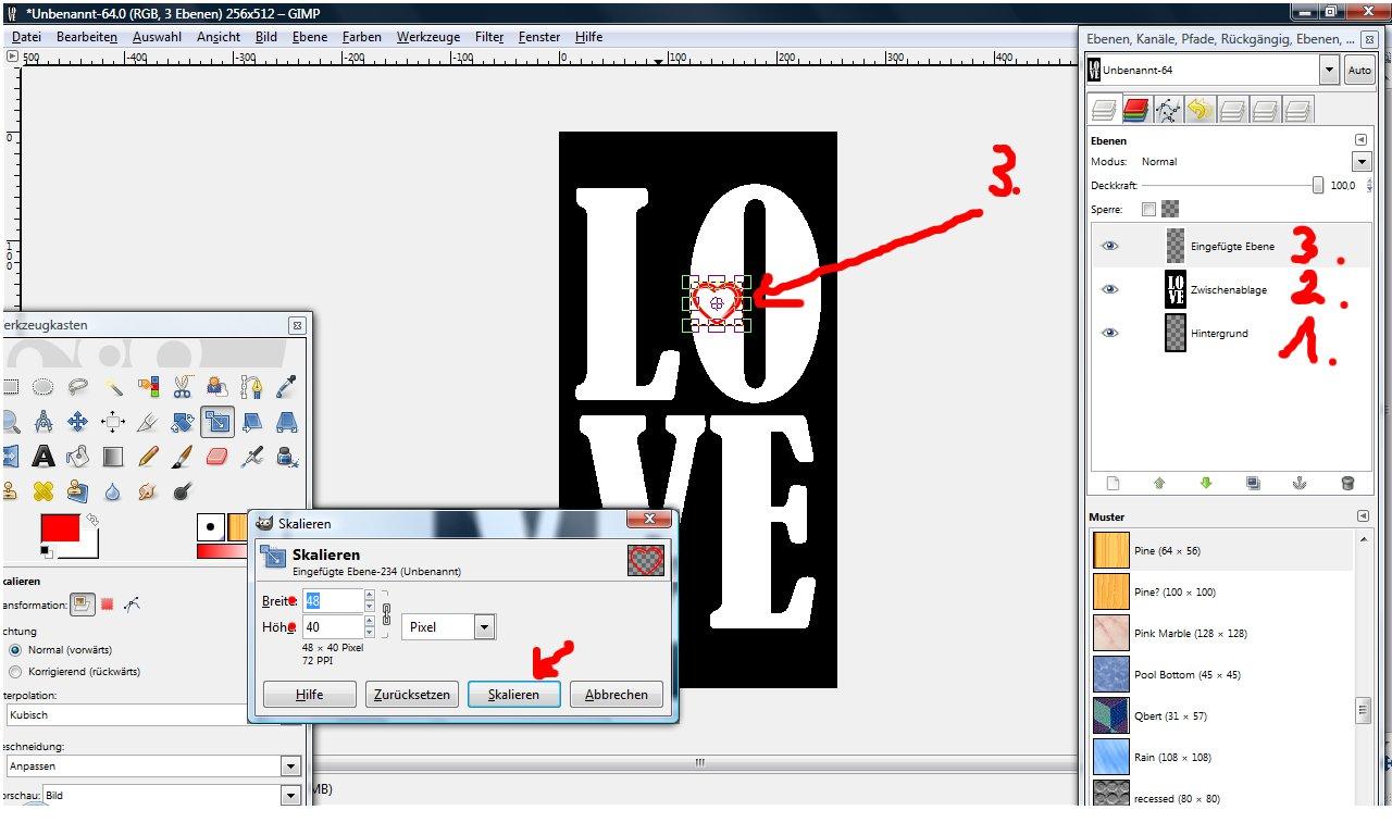 engelchen: Tapete erstellen und bearbeiten IV - Overlay erstellen ...